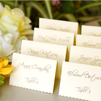 Seating Guests At Weddings With Nicknames