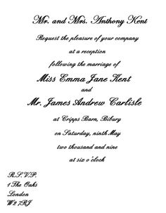 Invitation wording for reception only samples dbd38518b945483c55f9a64b17dbc6b7 stopboris Gallery